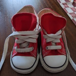 Toddler Converse hi-tops